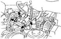 7.7 Сборка катушек зажигания - общая информация, проверка состояния и замена Subaru Forester