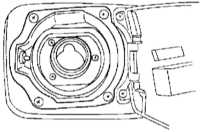 8.8 Кондуктор заливной горловины топливного бака Subaru Forester