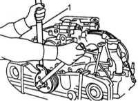 4.10 Разборка привода ГРМ, - снятие, проверка состояния и установка компонентов