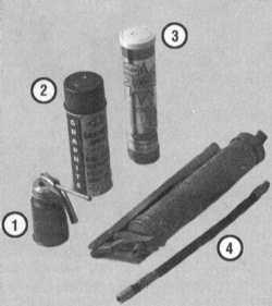 3.8 Смазывание компонентов шасси