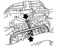 3.32 Замена ремней привода вспомогательных агрегатов и замена