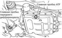 3.24 Замена ATF автоматической трансмиссии