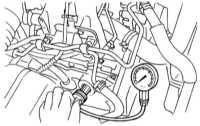 4.2 Проверка компрессионного давления в цилиндрах и герметичности   блока