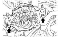7.15 Снятие, разборка, сборка и установка генератора Subaru Legacy Outback