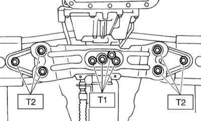 9.6 Снятие и установка трансмиссионной сборки Subaru Legacy Outback