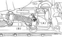 9.9 Проверка состояния, регулировка и замена датчика-выключателя разрешения   запуска Subaru Legacy Outback