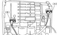 9.10 Снятие и установка переднего датчика скорости (VSS) Subaru Legacy Outback