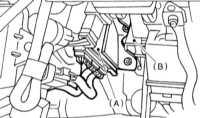 9.16 Снятие и установка модуля управления трансмиссии (TCM) Subaru Legacy Outback