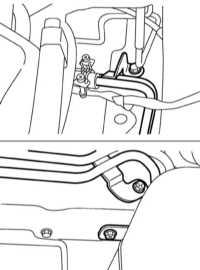 9.17 Снятие, установка и проверка состояния линий тракта охлаждения   ATF Subaru Legacy Outback
