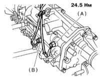 8.7 Снятие, установка и проверка состояния датчиков-выключателей Subaru Legacy Outback