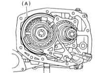 8.15 Снятие, установка и проверка состояния картера трансмиссионной   сборки Subaru Legacy Outback