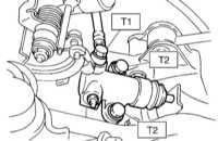 10.2.4 Снятие, проверка состояния и установка исполнительного цилиндра   сцепления
