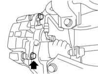 11.11 Проверка состояния и замена колодок дисковых тормозных механизмов задних колес