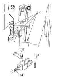 11.15 Снятие, установка и проверка исправности функционирования вакуумного   усилителя тормозов