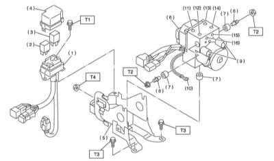 11.35 Снятие, установка и проверка исправности функционирования гидромодулятора   VDC