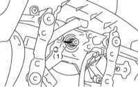 12.4.3 Снятие и установка рулевого колеса