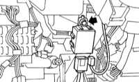 14.31 Снятие и установка компонентов системы иммобилизации двигателя