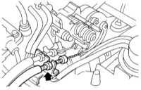 14.12 Снятие, проверка состояния и установка компонентов системы управления   скоростью Subaru Legacy Outback