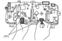 14.15 Снятие, обслуживание и установка комбинации приборов, проверка   состояния компонентов Subaru Legacy Outback