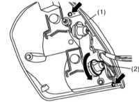 14.25 Снятие и установка осветительных приборов, замена ламп Subaru Legacy Outback