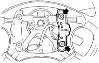 14.26 Снятие, проверка состояния и установка рожков и выключателя клаксона Subaru Legacy Outback