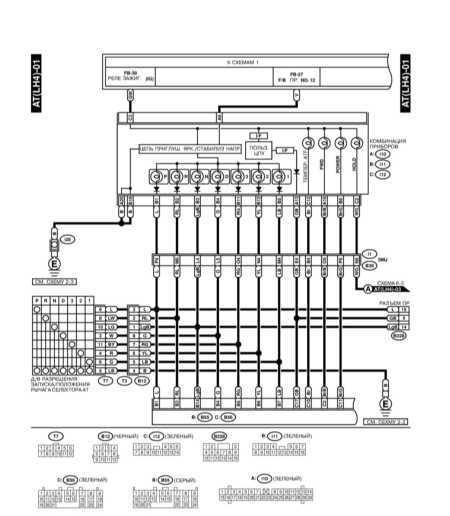 14.37.6 Система управления автоматической трансмиссии