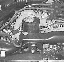 2.11 Проверка уровня жидкости в усилителе рулевого управления