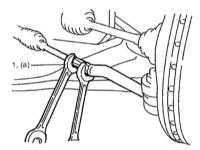 6.5 Регулировка угла схождения передних колес