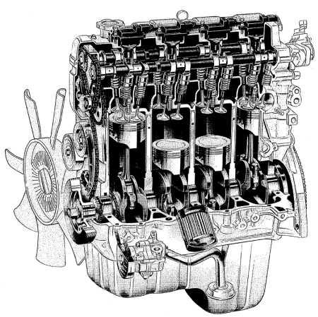 21.0 Механическая часть двигателя J20