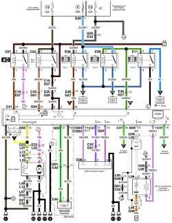 9.7 Схема системы управления кондиционирования воздуха (часть 1)