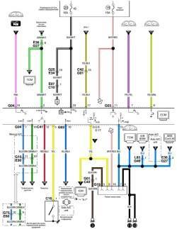 9.8 Схема системы управления кондиционирования воздуха (часть 2)