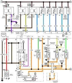 9.9 Схема системы управления кондиционирования воздуха (часть 3)