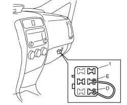 2.1.17 Проверка установки угла опережения зажигания Suzuki Liana