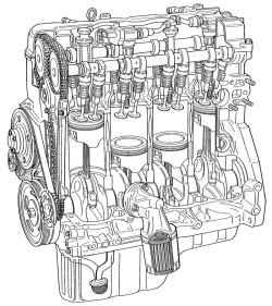 2.2.2 Общее описание двигателя