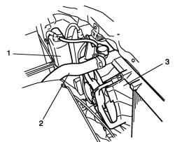 2.3.12 Снятие и установка радиатора