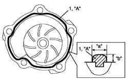 2.3.16 Проверка насоса охлаждающей жидкости Suzuki Liana
