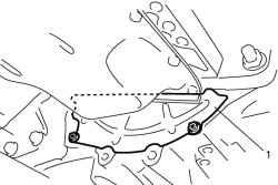 2.4.3 Снятие и установка масляного поддона и сетчатого фильтра масляного насоса Suzuki Liana