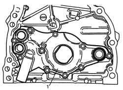 2.4.4 Разборка и сборка масляного насоса Suzuki Liana