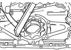 2.4.5 Проверка масляного насоса Suzuki Liana
