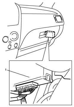 2.8.4 Блок управления двигателя электронной системы управления (электронный блок управления) Suzuki Liana