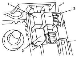 2.8.13 Проверка системы управления вентилятора радиатора