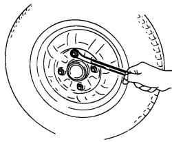 4.2.5 Снятие и установка колеса