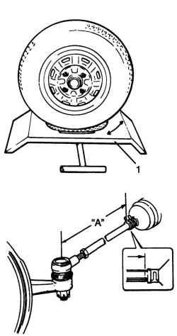 4.3.4 Проверка и регулировка углов поворота управляемых колес