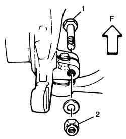 4.3.12 Снятие и установка рычага подвески / втулки