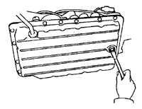 2.35 Замена жидкости в автоматической трансмиссии и фильтра