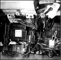 4.9 Электродвигатель и цепь вентилятора отопителя