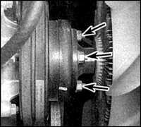 4.4 Крыльчатка вентилятора и гидромуфта