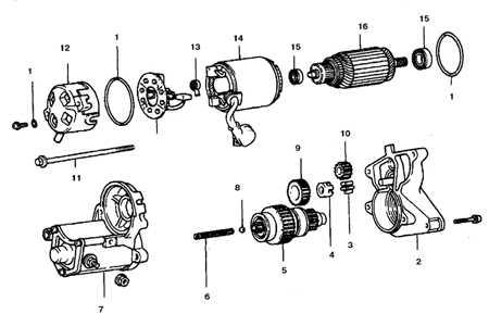 11.11 Система пуска двигателя