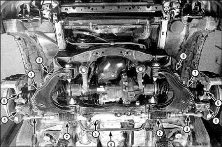 9.0 Подвеска и рулевое  управление