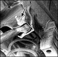 9.11 Поперечная штанга заднего моста